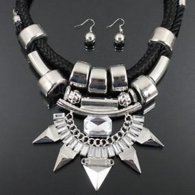 BOBBY Silver Necklace