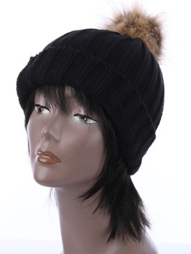 BALL BEANIE Black
