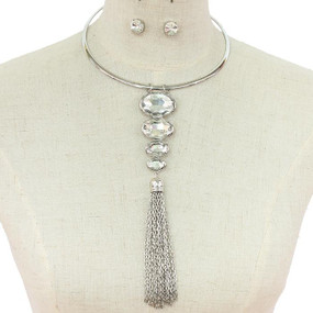 Oval Choker Necklace SL