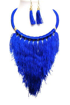 FRINGE THREAD Blue
