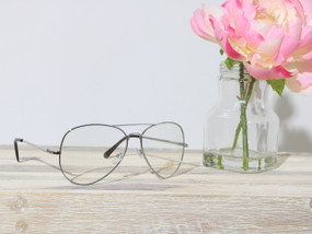 CLEAR AVIATOR Silver