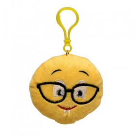 SMILEY PLUSH KEY CHAIN 3