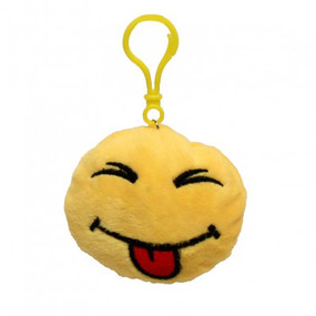 SMILEY PLUSH KEY CHAIN 5