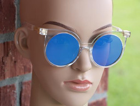 CLEAR RIMLESS Blue
