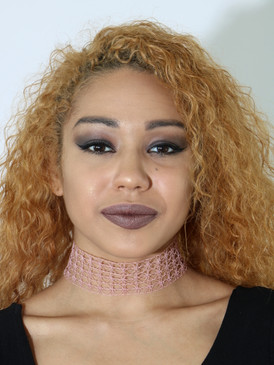 NET CHOKER Blush