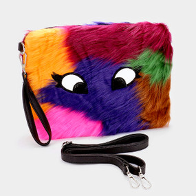 MULTI FURRY CLUTCH 2