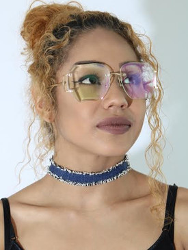 RUGGED DENIM CHOKER