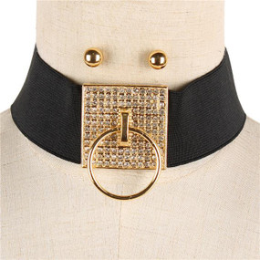 DOOR KNOCKER STONED CHOKER Gold