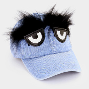BROW DENIM HAT