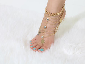 FOOT CANDY BLING ANKLET( 1 ONLY)