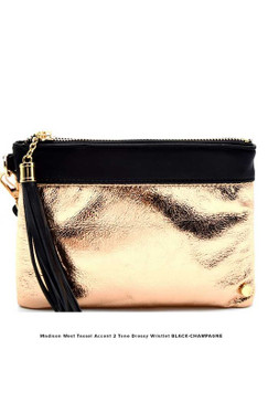 ROSE GOLD Black WRISTLET