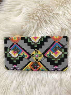 AZTEC ENVELOPE CLUTCH