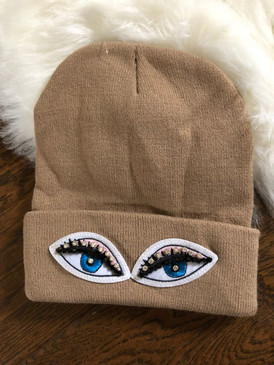 EYES ON ME BEANIE Khaki