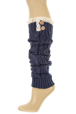 LEG WARMER Navy