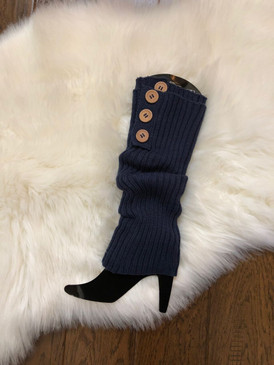 BOTTON LEG WARMER Navy