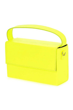 BOX CLUTCH Neon Yellow