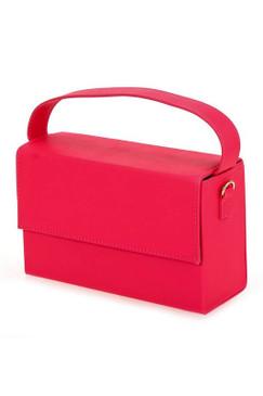 BOX CLUTCH Neon Pink