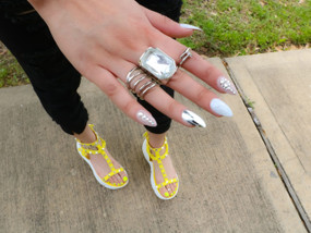 FANCY MIDI RING SET