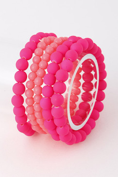 GEM Bracelet Pink