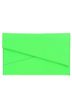 NEON ENVELOPE Green