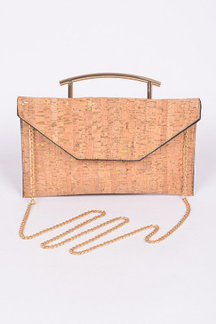 CORK LUXURY CLUTCH