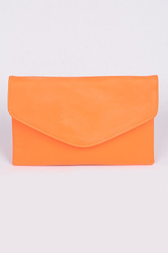 NEON LOVER CLUTCH Orange