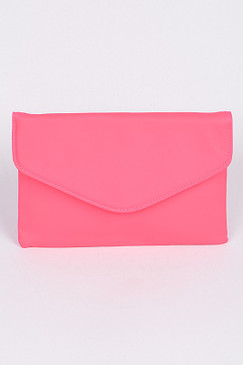NEON LOVER CLUTCH Pink