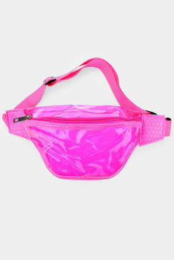 NEON CLEAR FANNY Pink