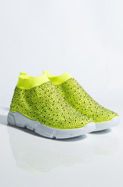 DIAMONDS Neon Lime