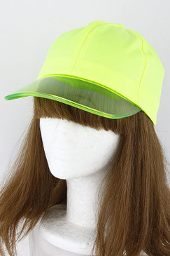FRESH HAT Neon Yellow