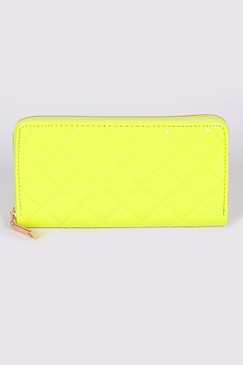 WALLET NEON Yellow