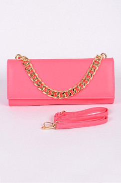 FEISTY PURSE Neon Pink