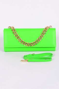 FEISTY PURSE Neon Green
