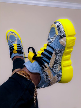 SNEAKERS Yellow