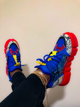 SNEAKERS Blue Multi