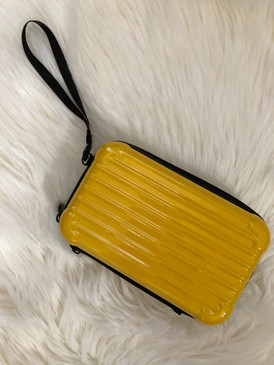 MINI CASE PURSE Yellow