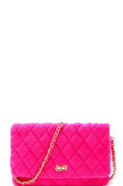 BABE PURSE Neon Pink