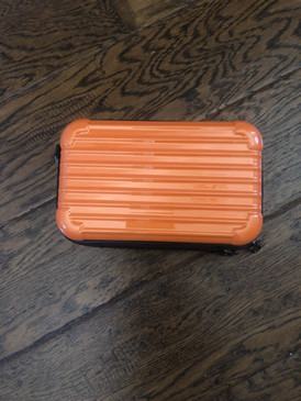 MINI CASE PURSE Orange
