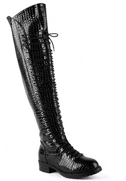 COMBAT LOVER Black Croc