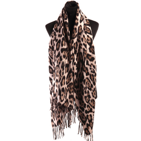 LEOPARD FANCY SCARF