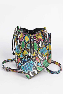 MULTI SKIN BUCKET BAG