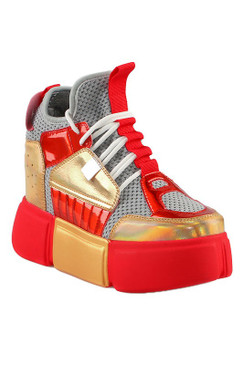 SNEAKERS Red Gold