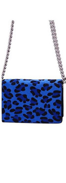 LEOPARD BAG  Blue