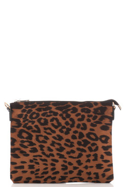 FANCY LEOPARD CLUTCH