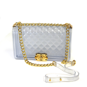 CLEAR JELLY PURSE