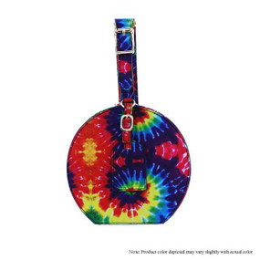 MINI ROUND PURSE Multi Tie Dye