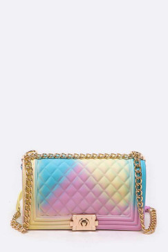 PASTEL JELLY PURSE