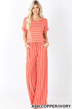 DEE JUMPSUIT ASH COPPER