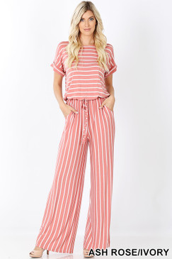 DEE JUMPSUIT ASH ROSE