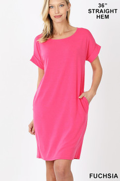 2020 CHILL DRESS FUCHSIA